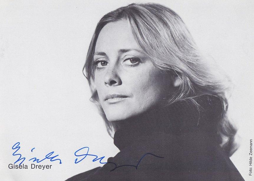 Gisela Dreyer Schauspielerin