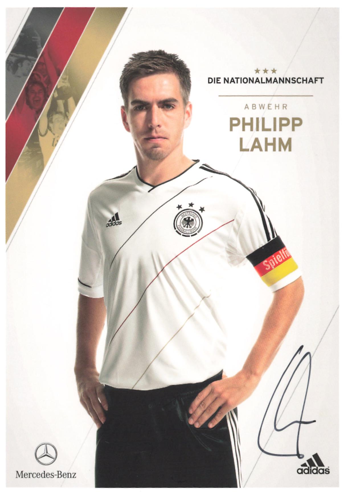 Lahm Philipp As Autogramme